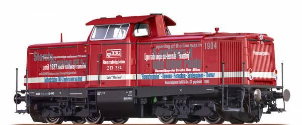BRAWA 42887 - Diesellokomotive Baureihe 213 der Rennsteigbahn