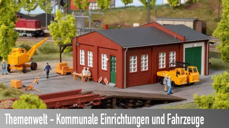 Kommunale Einrichtungen und Fahrzeuge