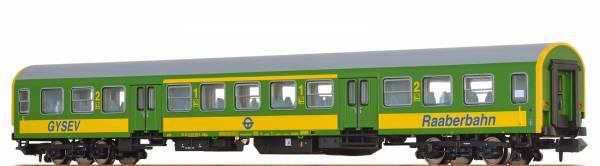 BRAWA 46030 - Personenwagen Bauart AByz der GYSEV