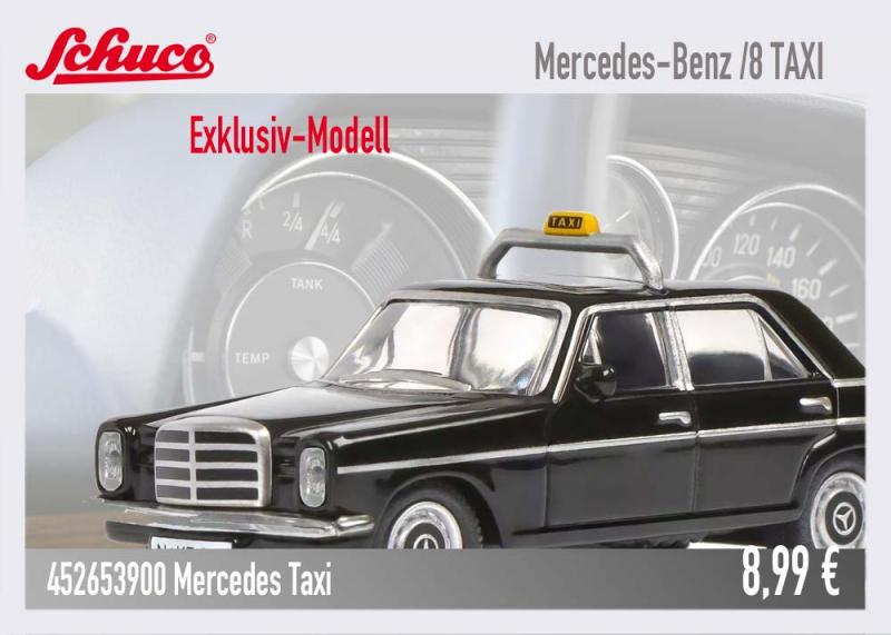 Schuco Exklusiv Modell Mercedes Strich 8