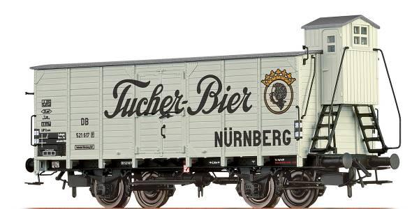 """BRAWA 67473 - Bierwagen Bauart G10 """"Tucher Bier"""" der DB"""
