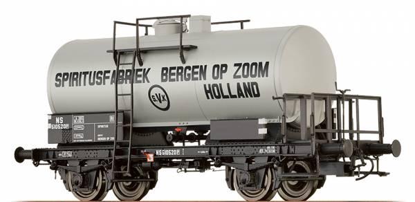 "BRAWA 67531 - Kesselwagen Bauart Z [P] ""Spiritusfabriek Bergen OP Zoom"" der NS"