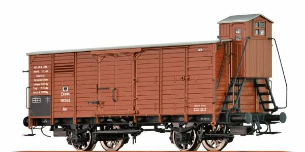 BRAWA 67455 - Gedeckter Güterwagen Bauart Gm der K.P.E.V.