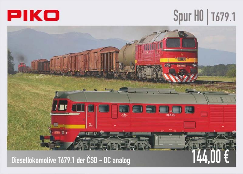 PIKO Diesellok T679.1 #52814