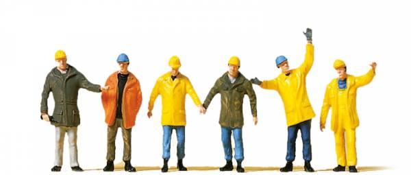 Preiser 10423 - Arbeiter in Schutzkleidung