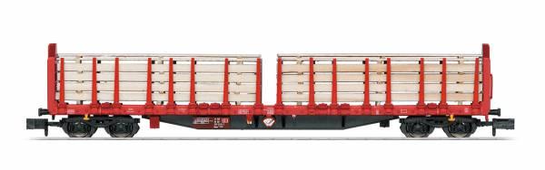 TRIX 15650 - Rungenwagen Bauart Roos 639 der DB AG