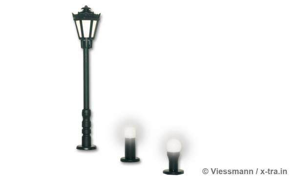 Set Gartenbeleuchtung. Viessmann 6160
