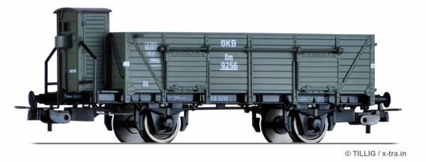 TILLIG 76727. Offener Güterwagen Om der Graz-Köflcher-Bahn