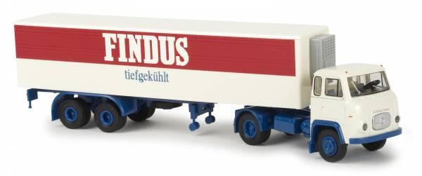 "BREKINA 85161 - Scania LB 76 Koffer-SZ ""Findus"" (D)"
