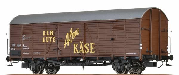 "BRAWA 48724 - Gedeckter Güterwagen Bauart Hbcs-w ""Alma Käse"" der ÖBB"
