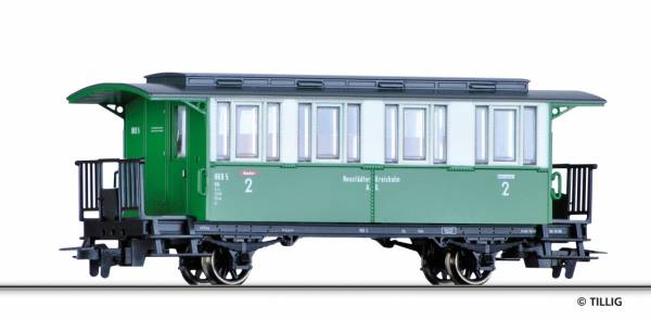 Schmalspur Personenwagen der NKB. TILLIG 03904