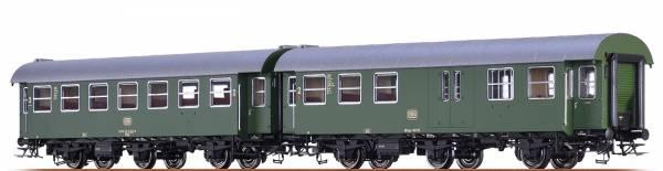 BRAWA 46311 - Personenwagen-Doppeleinheit Bauart B3yge und BD3yge der DB