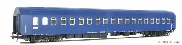 Heris 11282 - Schlafwagen WLABsm 166 CNL, Gangseite