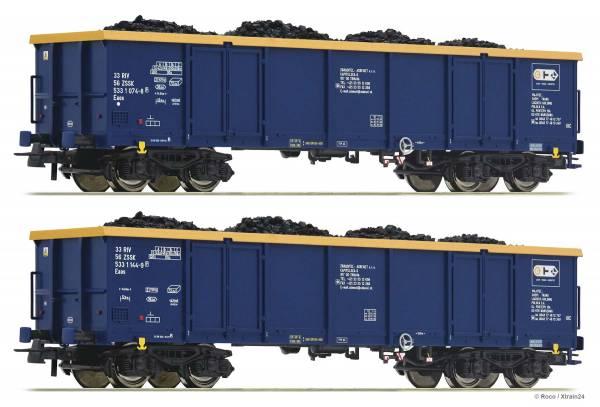 ᐅ Roco 76086 - 2er Set Güterwagen Bauart Eaos der CTL