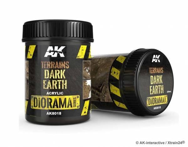 AK-interactive AK8018 Terrains dark earth