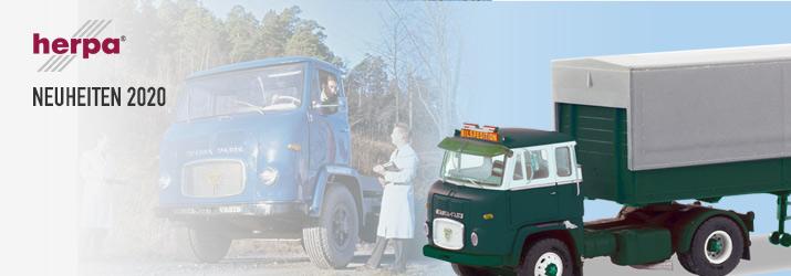 Straßenfahrzeuge für die Modelleisenbahn