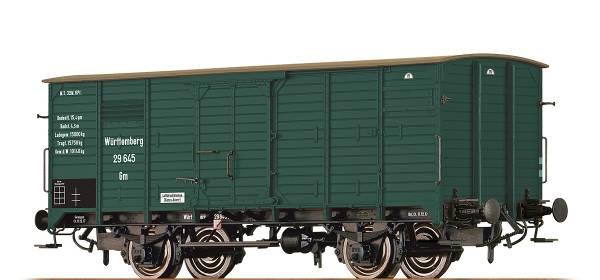 BRAWA 49722 - Gedeckter Güterwagen Bauart Gm der K.W.St.E.