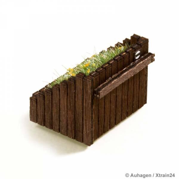 Auhagen 41665 - Kasten-Prellbock aus Holz