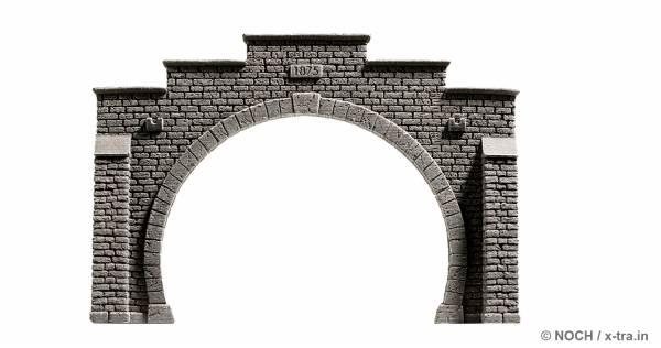 Tunnelportal 2-gleisig. NOCH 48052