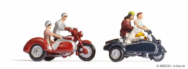Motorradfahrer. NOCH 15905