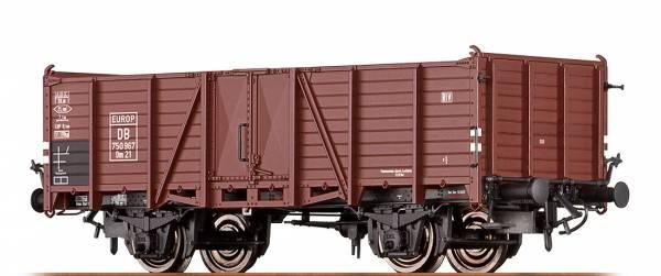 """BRAWA 48433 - Offener Güterwagen Bauart Om 21 """"EUROP"""" der DB"""