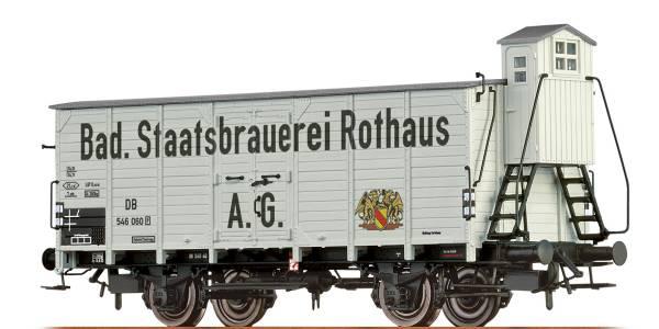 """BRAWA 67475- Bierwagen Bauart G10 """"Rothaus"""" der DB"""