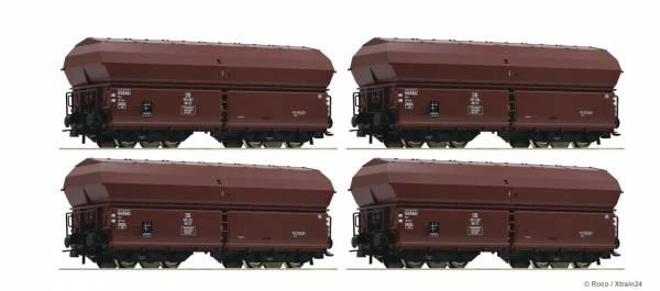 Roco 67083 - Set Klappdeckelwagen KKt 57