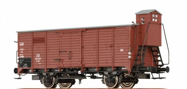 BRAWA 49721 - Gedeckter Güterwagen Bauart G10 der DB