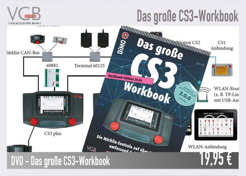 VGB DVD Das große CS3-Workbook Edition 20.03