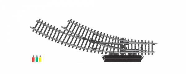 Elektrische Bogenweiche rechts, K-Gleis. Märklin 2269