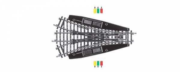 Symmetrische Dreiwegweiche, K-Gleis. Märklin 2270