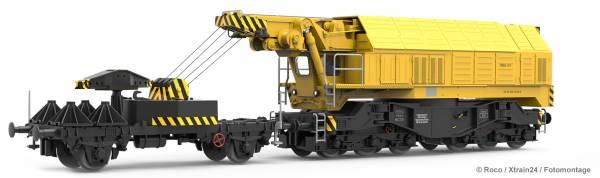 Roco 73035 - Eisenbahndrehkran EDK 750 der DB mit echten Betriebsfunktionen | DC