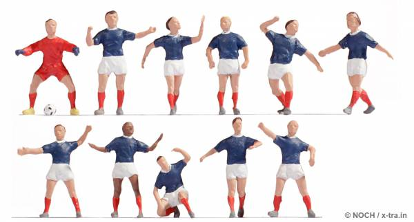 NOCH 15973. Fußballteam Frankreich