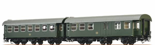 BRAWA 46308 - Personenwagen-Doppeleinheit Bauart B3yge und BPw3yge der DB