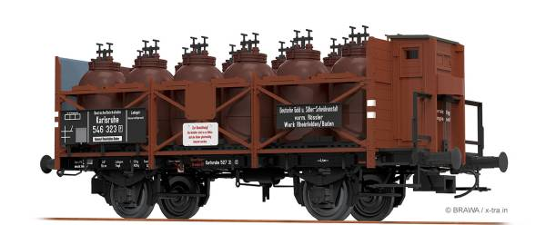 BRAWA 49302 - Säuretopfwagen Bauart Z [P] der DRG