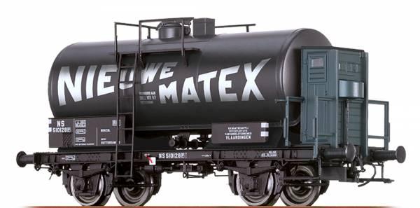 "BRAWA 49228 - Kesselwagen Bauart Z [P] ""Nieuwe Matex"" der NS"
