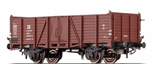 BRAWA 48434- Offener Güterwagen Bauart Omu (O) der DR