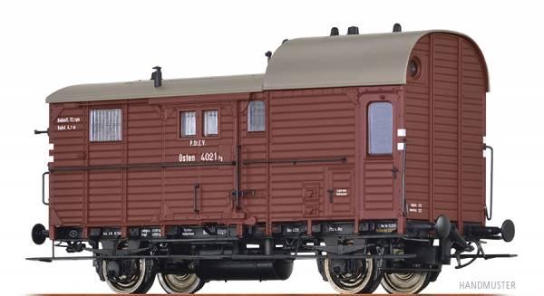 BRAWA 49400 - Güterzuggepäckwagen Bauart Pg 14 der P.St.E.V.