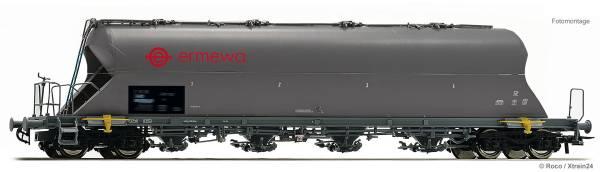 "Roco 76707 - Staubsilowagen Bauart Uacs ""ERMEWA"" der RSB-Logistic"