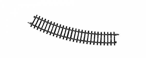 Gebogenes K-Gleis R553,9 mm 30°. Märklin 2241