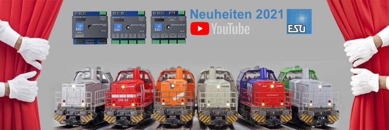 ESU Neuheiten 2021 Digital-Bausteine und Decoder, Lokomotive G1000