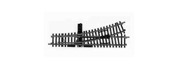 K-Gleis Handweiche links, 22°. Märklin 2262