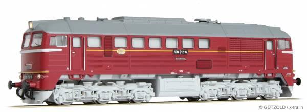 GÜTZOLD 31050126 - Diesellokomotive 120 212-6 der DR