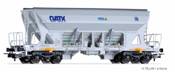 TILLIG 76743. Selbstentladewagen Faccns der GATX / Nordic Rail Service / Basalt AG