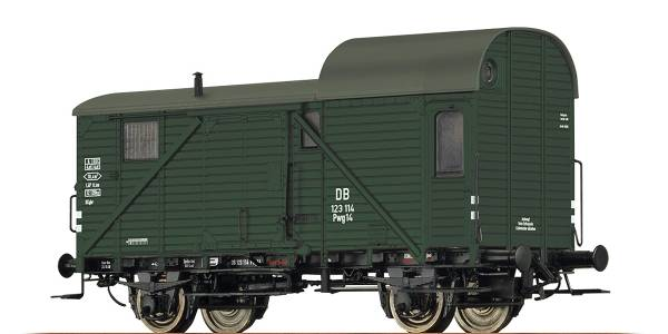 BRAWA 49404 - Güterzuggepäckwagen Bauart Pwg 14 der DB