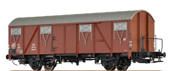 BRAWA 47278 - Gedeckter Güterwagen, Bauart Glmhs 50 der DB