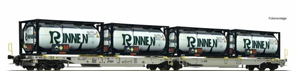 Roco 76427 - Doppeltaschen-Gelenkwagen Bauart Sdggmrs/T2000 der AAE