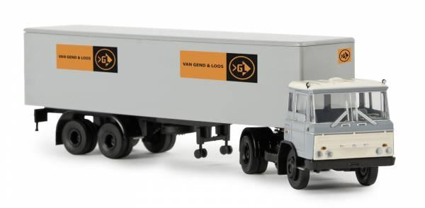 """BREKINA 85264 - DAF FT 2600 Koffer-SZ """"van Gend & Loos"""" (NL)"""