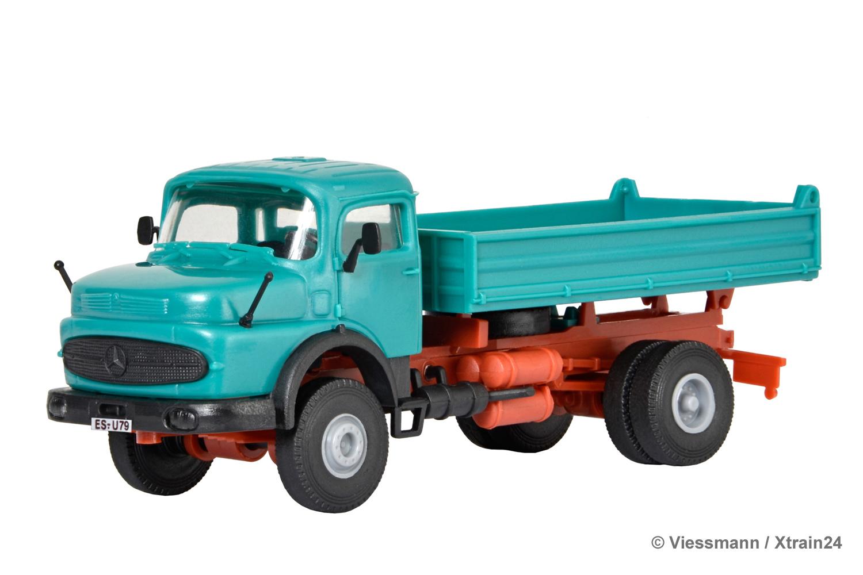 Kibri 14030 H0 LKW Mercedes Rundhauber mit Kipp-Pritsche