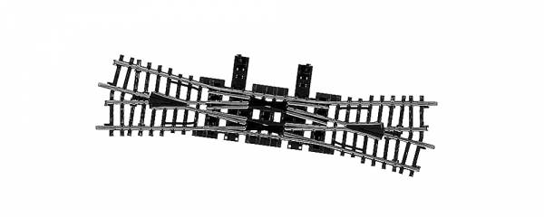 Doppelte Kreuzungsweiche (DKW), K-Gleis. Märklin 2275